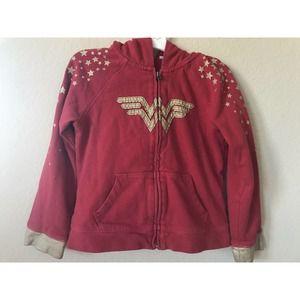 Baby Gap Wonder Woman Full Zip Hoodie Jacket